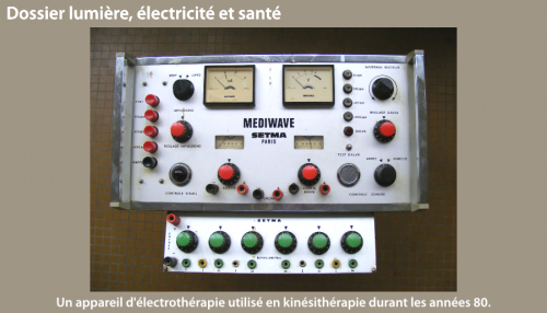 électricité et santé