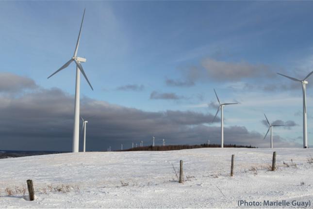 éoliennes Gaspésie