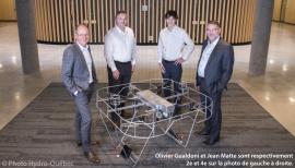 Entente Hydro-Québec et Drone Volt