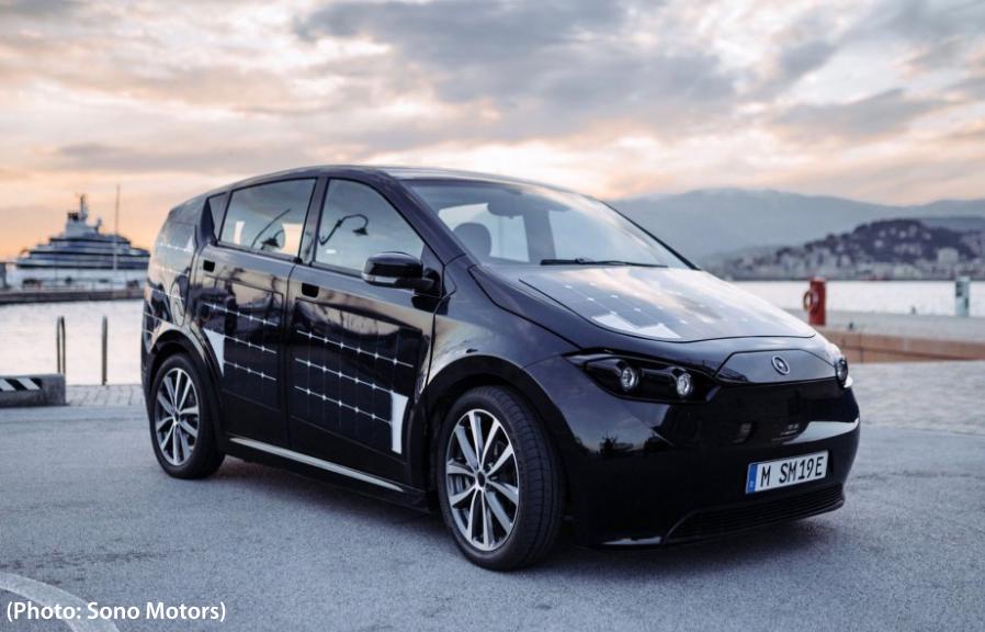 La voiture électrique Sion