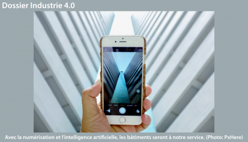 Industrie 4.0 - bâtiments intelligents