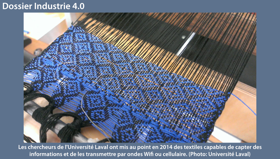 Industrie 4.0 textile intelligents