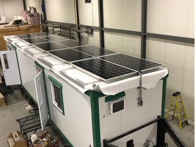 Mobile Solar Energy System