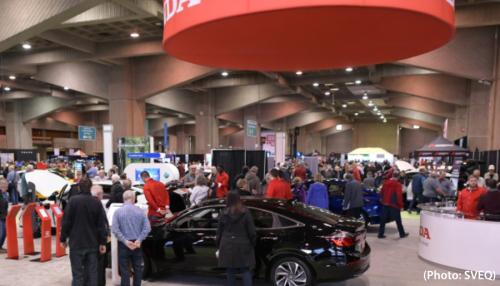 Salon des véhicules électriques