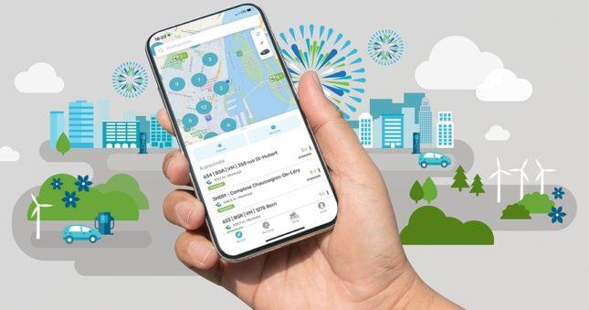 Une application mobile pour les propriétaires de VÉ