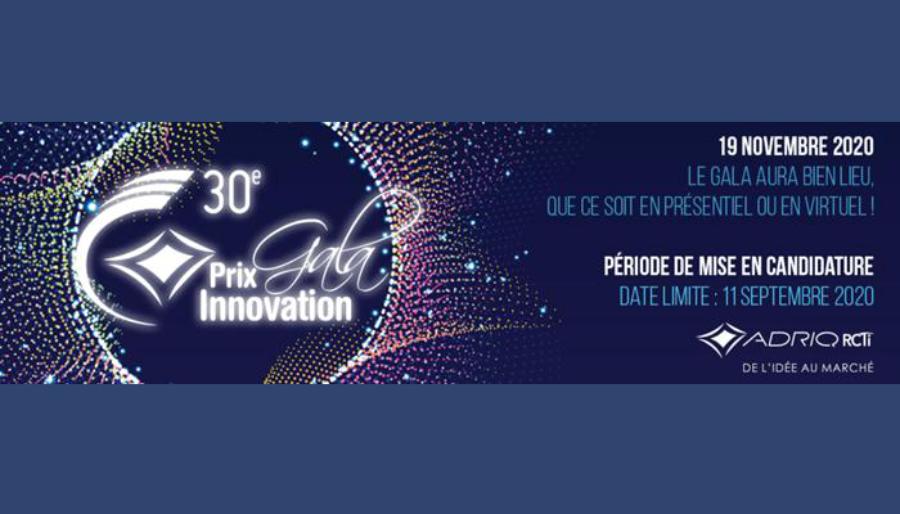 ADRIQ Gala Prix Innovation 2020
