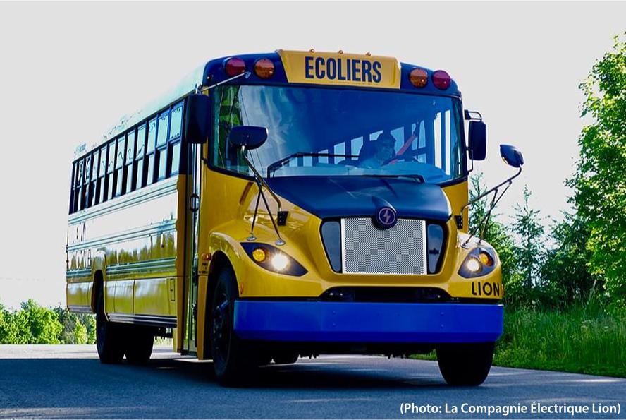 Autobus électrique scolaires Lion C