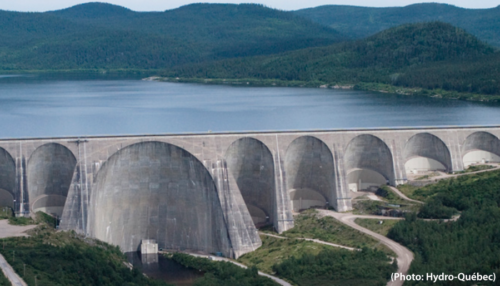 centrale hydroélectrique d'Hydro-Québec