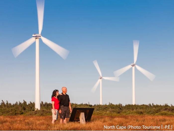 Éoliennes North Cape