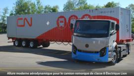Camion remorque Lion