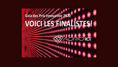 Gala des Prix Innovation 2020 - finalistes