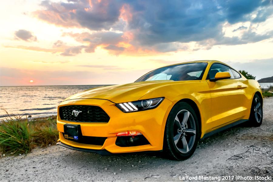 La Ford Mustang 2017