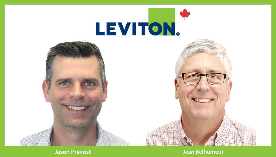 Leviton Jean Belhumeur Jason Prevost