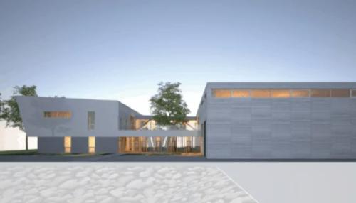 Projet d'immeuble de l'Institut du véhicule innovant