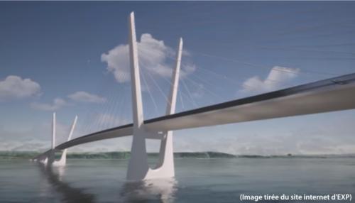 le pont de l'Île d'Orléans