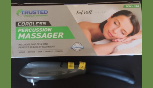 vibromasseur à percussions sans fil de Trusted Medical Solu