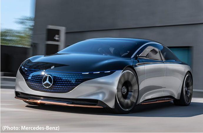 Vision EQS de Mercedes-Benz