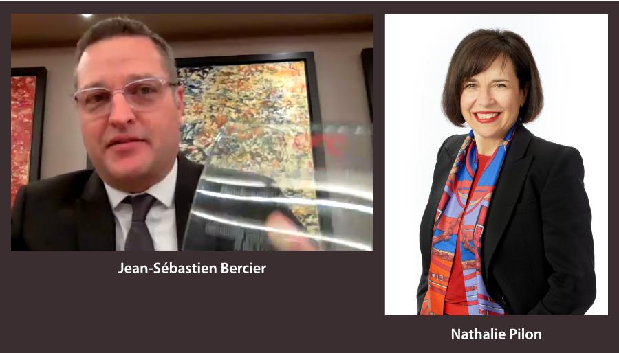 Jean-Sébastien Bercier et Nathalie Pilon