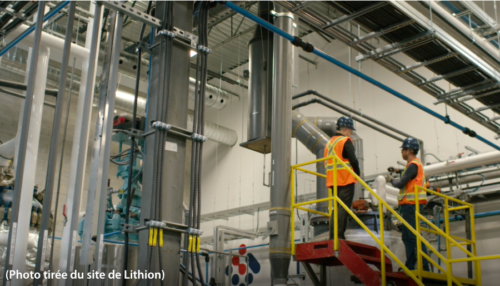 Usine Recyclage Lithion
