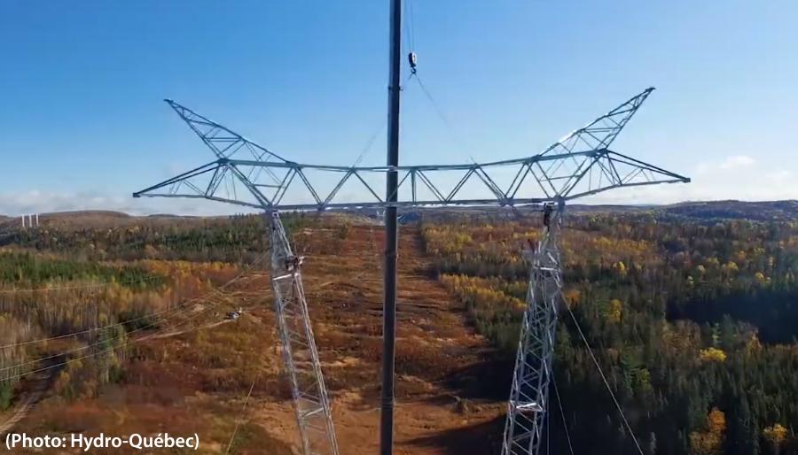 Construction ligne électrique