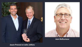 Jason Prevost, John Jefkins et Jean Belhumeur