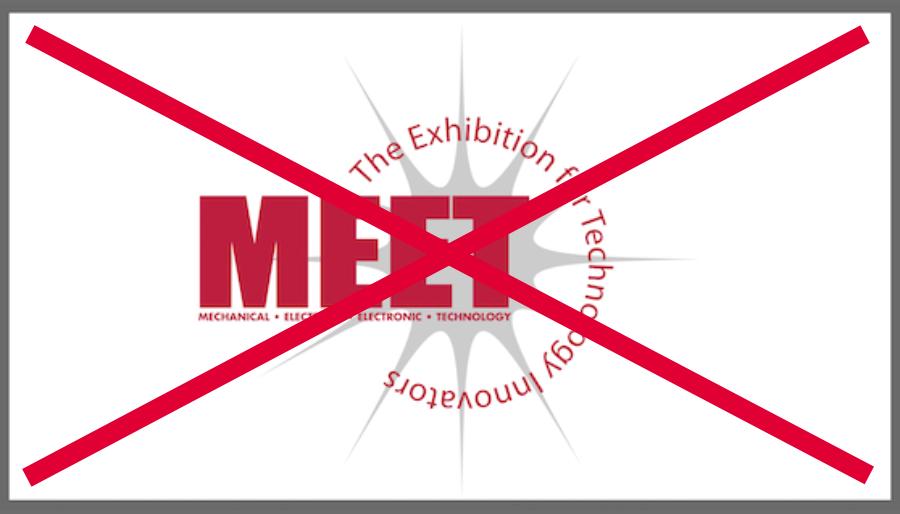 Annulation du 24e MEET Show