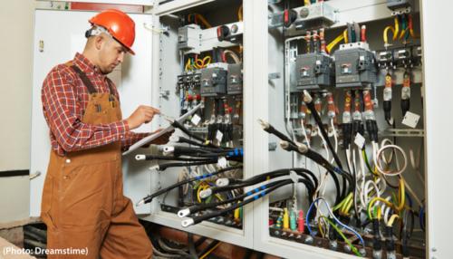 électricien maintenance
