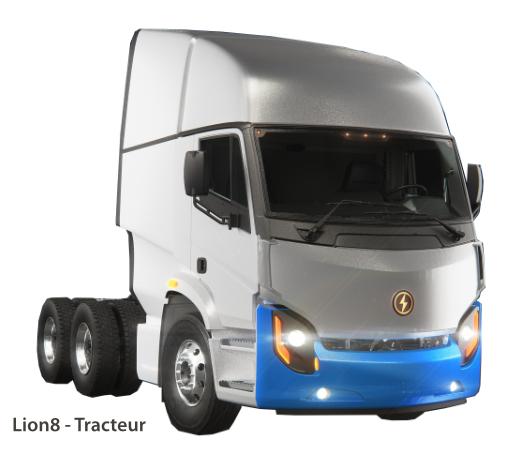 Lion8 - Tracteur