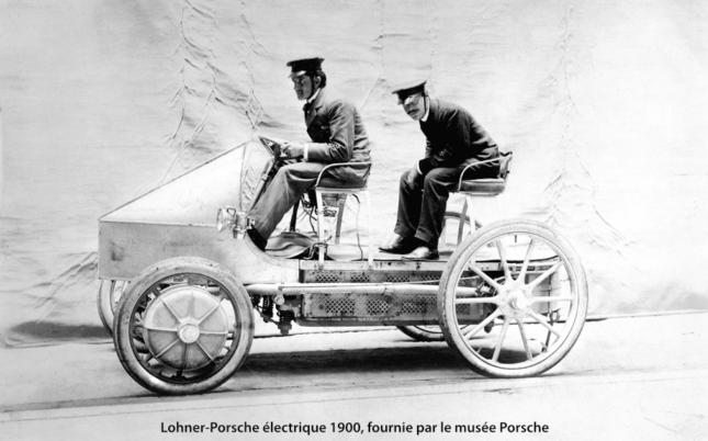 Lohner-Porsche électrique 1900