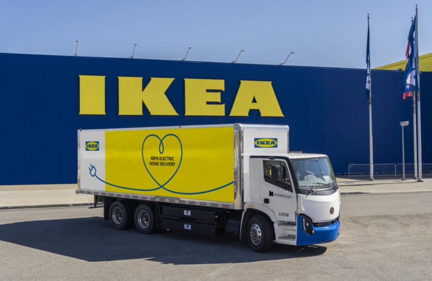 Camion Lion pour IKEA