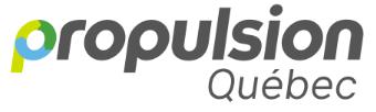 Propulsion Québec logo