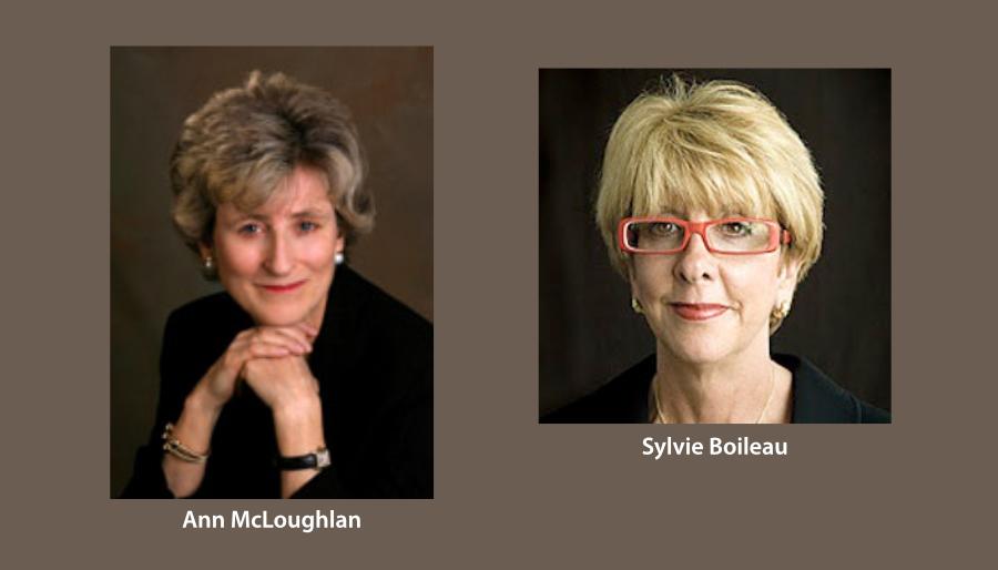 Ann McLoughlan et Sylvie Boileau