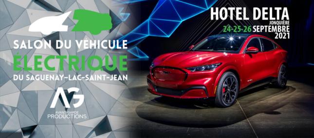 Salon du véhicule électrique du Saguenay-Lac-Saint-Jean