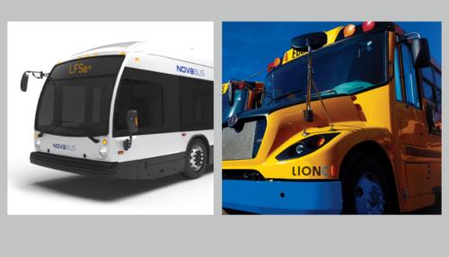 Autobus scolaires électriques