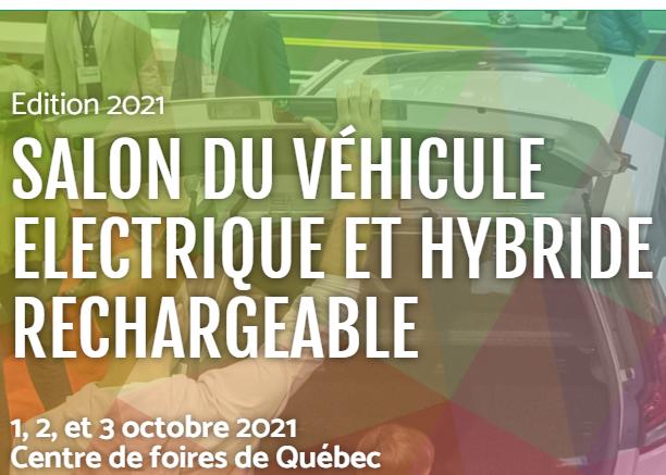 Salon du véhicule électrique de Québec 2021