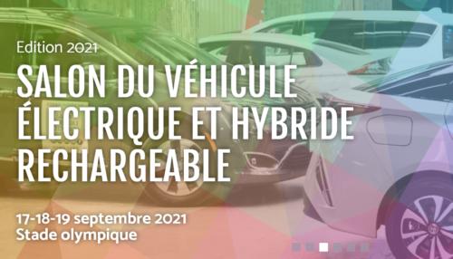 Salon du véhicule électrique de Montréal 2021